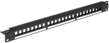 PATCH PANEL KEYSTONE PP-24/FX/C1