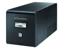 UPS POWERWALKER LINE-INTERACTIVE 1000VA 2X SCHUKO + 2XIEC OUT, RJ11/RJ45 IN/OUT, USB, LCD