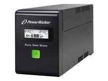 UPS POWERWALKER LINE-INTERACTIVE 800VA 3X IEC 230V, PURE SINE WAVE, RJ11/45 IN/OUT, USB, LCD