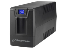 UPS POWERWALKER LINE-INTERACTIVE 800VA SCL 2X PL 230V, RJ11/45 IN/OUT, USB, LCD