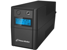 UPS POWERWALKER LINE-INTERACTIVE 650VA, 2X SCHUKO, RJ11 IN/OUT, USB, LCD